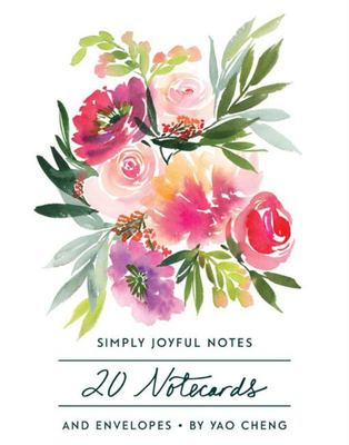 Simple Joys Notes: 20 Different Notecards & Envelopes