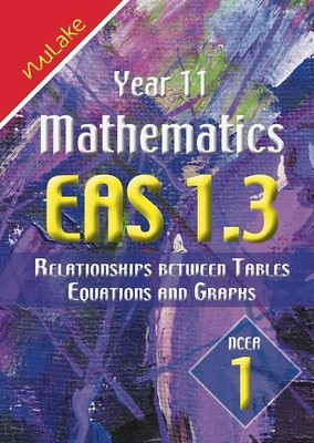 NuLake: Year 11 Maths EAS 1.3 - Relationships between Tables, Equations or Graphs