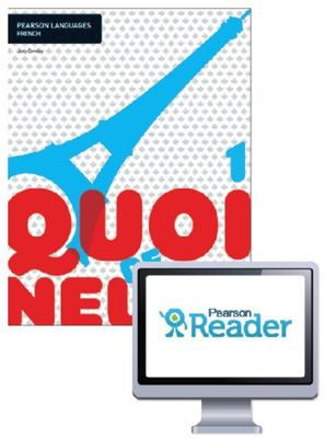Quoi de neuf ? 1 Student Book with Reader+