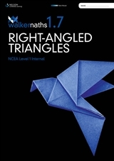 Walker Maths 1.7 Right Angled Triangles: Level 1 NCEA