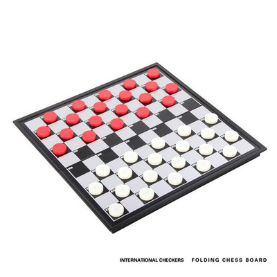 Checkers - Magnetic Folding Board