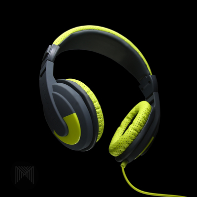 ST433 Headphones Mconnected Over Ear Soundstorm Green