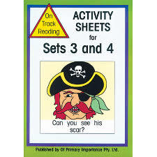 Activity sheets for sets 3 and 4