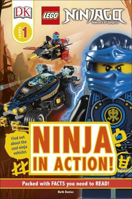 Ninja in Action! (LEGO Ninjago: DK Readers Level 1)