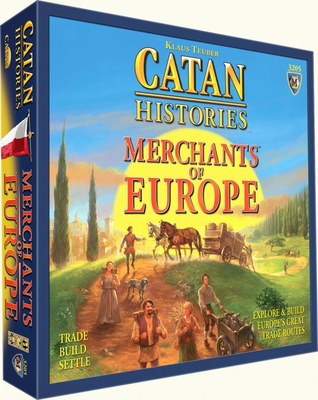 Settlers of Catan: Catan Histories Merchants of Europe (Stand-Alone)
