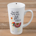 Don't Let Anyone Dull Your Sparkle Latte Mug