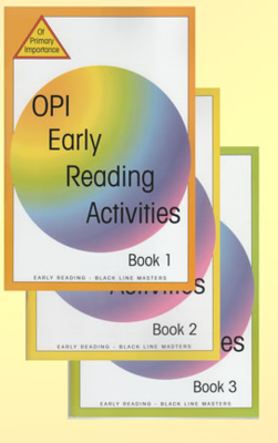 OPI Early Reading Activities Book 3 BLM