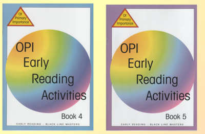 OPI Early Reading Activities Book 5 BLM