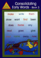 Homepage consolidating early words 3