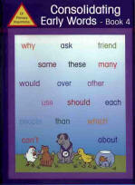 Consolidating Early Words Book 4