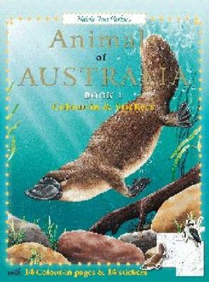 Animals of Australia Book 2 Colour-In 1