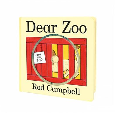 Dear Zoo (Board & CD)