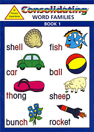 Consolidating Word Families BLM - Book 1