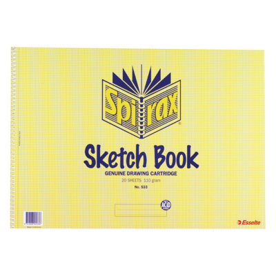 Sketch Book 533 A3 20 leaf 110gm - GNS