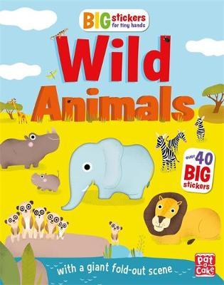 Wild Animals (Big Stickers for Tiny Hands)
