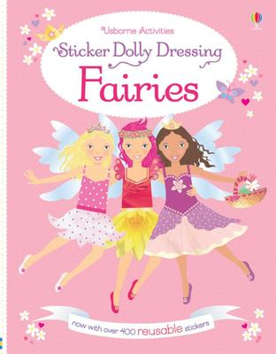 Fairies (Usborne Sticker Dolly Dressing)
