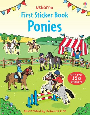 Ponies (Usborne First Sticker Book)