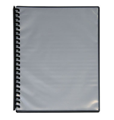 ST234 Display Book Refillable Clearfront Black