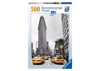 Flat Iron Building NY Puzzle  500 Pieces