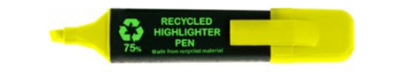 ST406 Highlighter Recycled Yellow