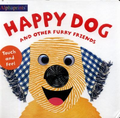 Alphaprints Touch & Feel Happy Dog