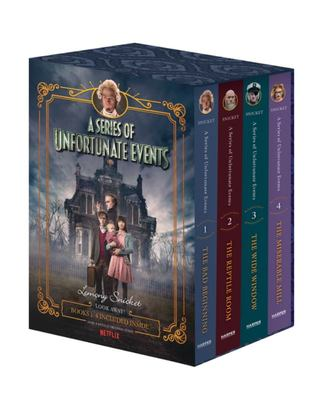 A Series of Unfortunate Events Box Set (1-4)