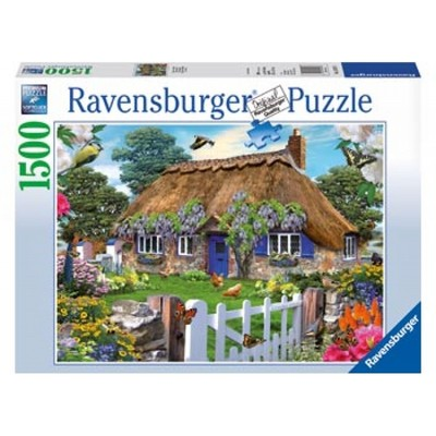 Ravensburger - Cottage in England Puzzle 1500pcs