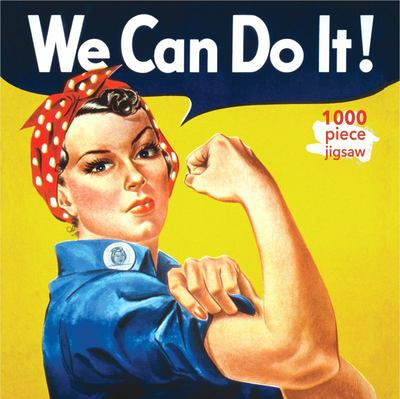 Rosie the Riveter Poster: 1000-piece Jigsaw Puzzle Flame Tree