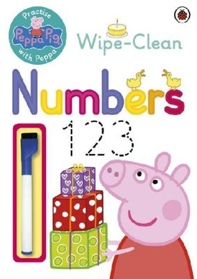 Wipe-Clean Numbers (Practise with Peppa Pig)
