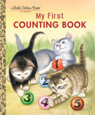 LGB My First Counting Book  (Little Golden Book)