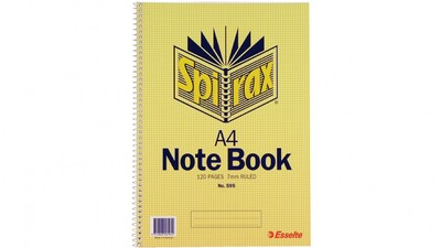 Notebook 595 A4 120pg (56058)