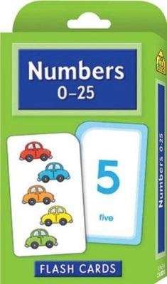 Numbers 0-25 (School Zone Flash Cards)