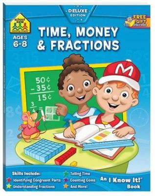 Time, Money & Fractions (School Zone)