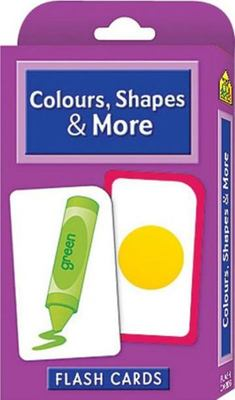 Colours, Shapes & More (School Zone Flash Cards)