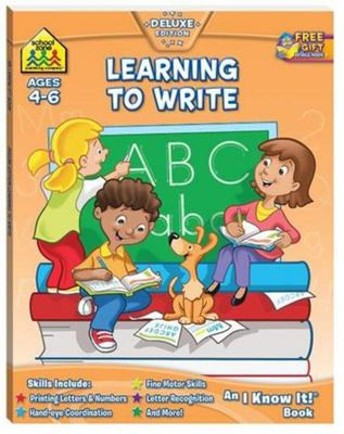 Learning To Write (School Zone)