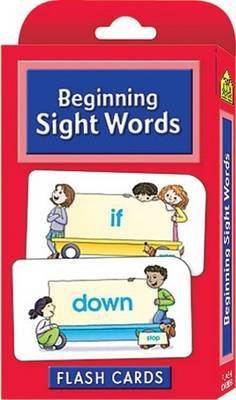 Sight Words (School Zone Flash Cards)