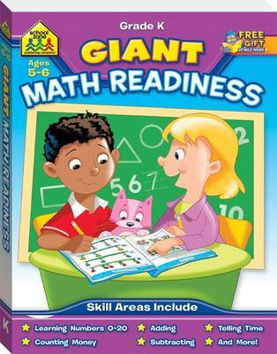 School Zone Giant Workbook: Maths Readiness Ages 5-6