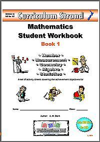 Curriculum Strand Mathematics Student Workbook 1 (suggested suits years 2-3)