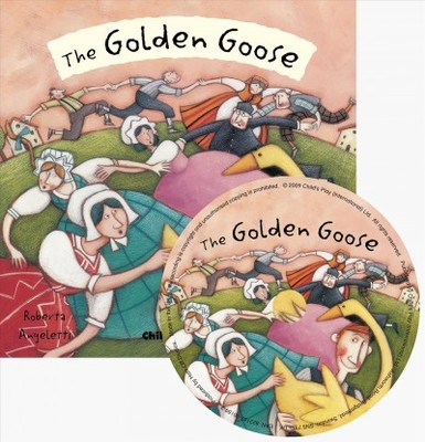 The Golden Goose (Flip Up Fairy Tales Book & CD)