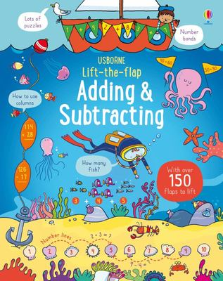 Adding and Subtracting (Usborne Lift-the-Flap Board Book)
