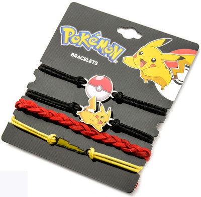 Pokemon Bracelet Pokemon Arm Party Bracelet 4 Piece