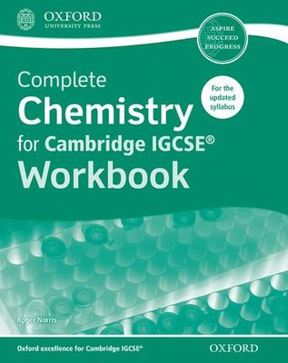 Complete Chemistry for Cambridge IGCSE Workbook - Oxford