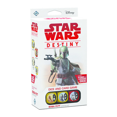 Star Wars Destiny TCDG Boba Fett Starter Set