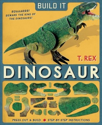 Build It: Dinosaur T. Rex  (Model & Book)