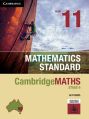 Cambridge Maths Stage 6 NSW Standard Year 11 Print Bundle (Textbook and HOTmaths)