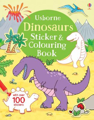 Dinosaur (Sticker and Colouring Book)
