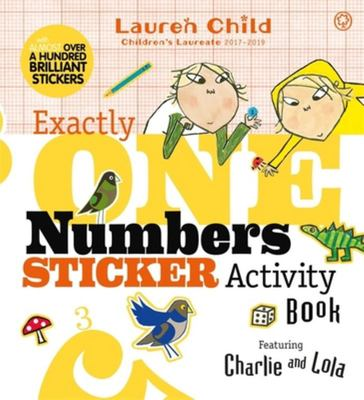 Charlie and Lola: Exactly One Numbers Sticker Activity Book