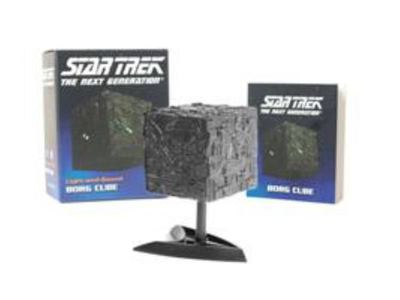 Light-and-sound Borg Cube (Star Trek)