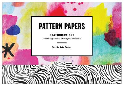 Stationery Pattern Papers 18 Writing Sheets, Envelopes, and Seals Textile Arts Centre