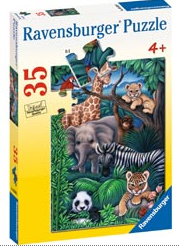Rburg - Animal Kingdom Puzzle 35pc